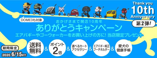 エアバキーフォードッグ ドーム3発売決定 イヌトゴ10周年ありがとうキャンペーン☆