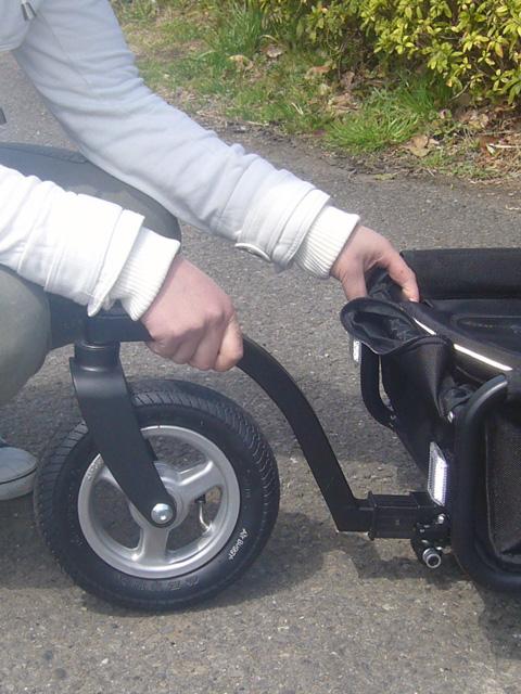 Air Buggy for Dog/中型犬用トゥインクル