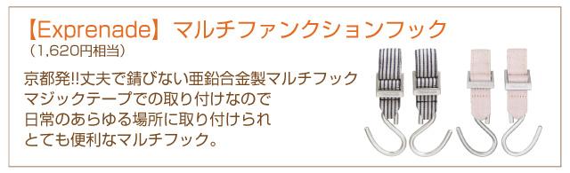 【Exprenade】マルチファンクションフック