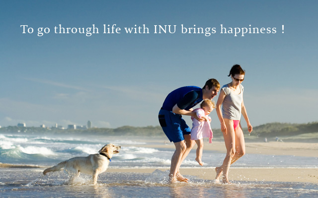 To go through life with INU brings happiness!